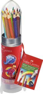 Confezione con 15 matite colorate Colour Grip Metal Rocket