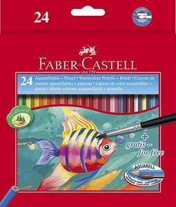Astuccio in cartone con 24 matite colorate Acquerellabili
