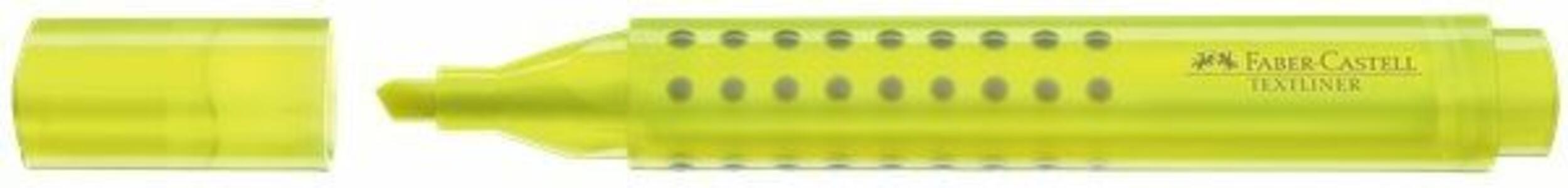 Evidenziatore Faber Castell Grip 1543 giallo punta 1-5 mm