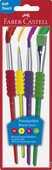 Cartoleria Blister con 4 pennelli Soft (misura 2-6-10-12) Faber-Castell