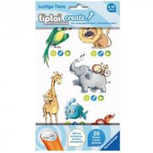 Tiptoi. CREATE Sticker Lustige Tiere