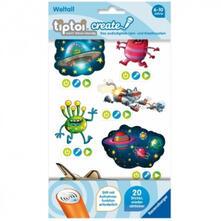 Tiptoi. CREATE Sticker Weltall