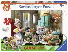 44 Gatti B Ravensburger Puzzle 24 giant Pavimento