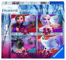 Puzzle 4 in a box. Frozen 2