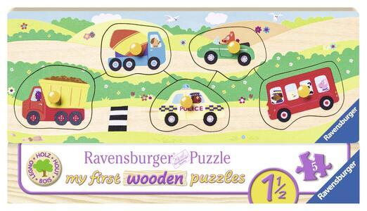 I Miei Primi Veicoli My first wooden puzzle Ravensburger (03236)