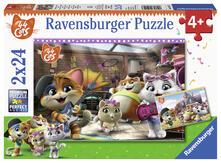 44 Gatti Ravensburger Puzzle 2x24 pz