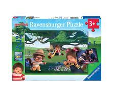Puzzle 2X12 Pz. Moncchichi. Ravensburger (05020 8)