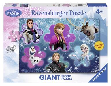 Frozen Il Mondo di Anna. Puzzle 24 Pezzi Gigante - 2