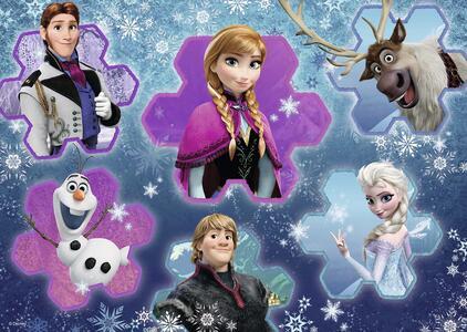 Frozen Il Mondo di Anna. Puzzle 24 Pezzi Gigante - 3