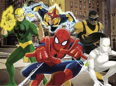 Ultimate Spider-man I Fantastici Supereroi. Puzzle 24 Pezzi Gigante - 3