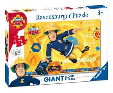 Sam il pompiere A Puzzle 24 pezzi Ravensburger (05446) - 2
