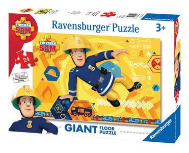 Sam il pompiere A Puzzle 24 pezzi Ravensburger (05446) - 3