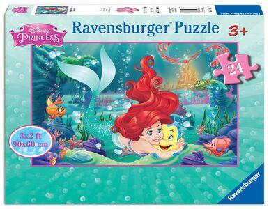 Foto di Puzzle 24 pezzi Pavimento. Principesse Disney, Giochi e giocattoli