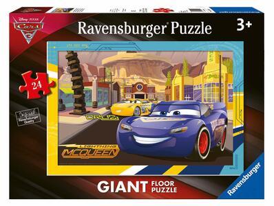 Cars 3. Puzzle Gigante da Pavimento da 24 Pezzi