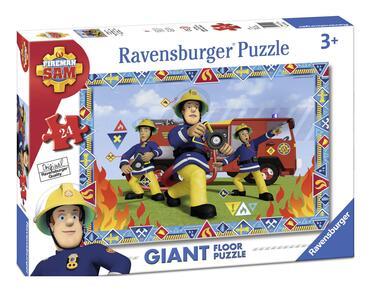 Sam il Pompiere. Puzzle 24 Pezzi Gigante