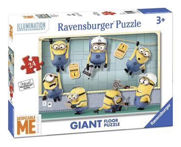 Minions. Puzzle 24 Pezzi Gigante