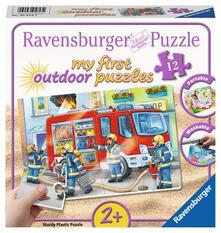 My first puzzles. Outdoor. Die Feuerwehr saust herbei. Ravensburger 05613 Puzzle 12 pezzo(i)