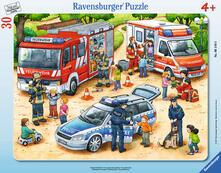30-48 Teile Rahmenpuzzle. Spannende Berufe. Ravensburger 00.006.144 puzzle 30 pezzo(i)