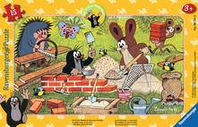 15 Teile Rahmenpuzzle. MW: Der kleine Maulwurf und seine Freunde. Ravensburger 00.006.151 puzzle Puzzle con formine 15 pezzo(i)