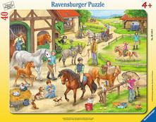 30-48 Teile Rahmenpuzzle. Auf dem Pferdehof. Ravensburger 00.006.164 puzzle Puzzle con tessere 40 pezzo(i)