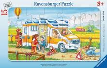 15 Teile Rahmenpuzzle. Krankenwagen im Einsatz. Ravensburger 06170 Puzzle 15 pezzo(i)