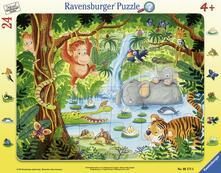 Ravensburger 06171. Puzzle Incorniciato. Abitanti Della Giungla