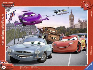 Cars A Puzzle Incorniciato Ravensburger (06343) - 2