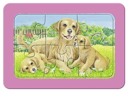 Dolci animali da compagnia Puzzle 3x6 pezzi Ravensburger (06572) - 5