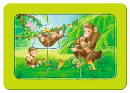Giocattolo My First puzzle 3x6 pezzi Scimmie, elefanti e leoni Ravensburger 2