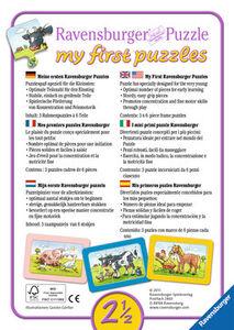 Giocattolo My First puzzle 3x6 pezzi Scimmie, elefanti e leoni Ravensburger 3
