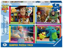 Toy story 4 Ravensburger Puzzle 4x42 Bumper Pack