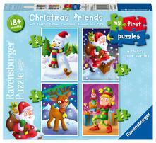 My First Puzzles Progressive. Amici di Natale. Ravensburger (6854)