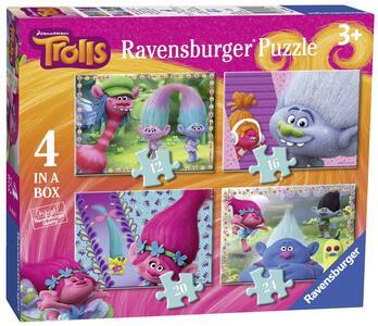 Trolls Puzzle 4 in 1 Ravensburger (06864)