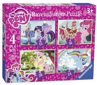 My Little Pony Puzzle 4 in 1 Ravensburger (06896)