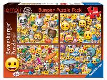 Emoji Puzzle 4x100 pezzi Ravensburger (06967)