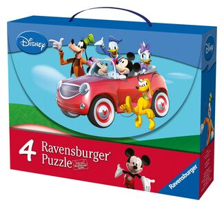 Giocattolo Valigetta puzzle. Mickey Mouse Clubhouse Ravensburger 0