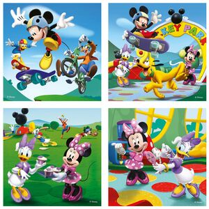 Giocattolo Valigetta puzzle. Mickey Mouse Clubhouse Ravensburger 1