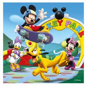 Giocattolo Valigetta puzzle. Mickey Mouse Clubhouse Ravensburger 2