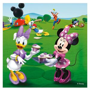 Giocattolo Valigetta puzzle. Mickey Mouse Clubhouse Ravensburger 3