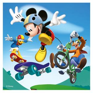Giocattolo Valigetta puzzle. Mickey Mouse Clubhouse Ravensburger 5