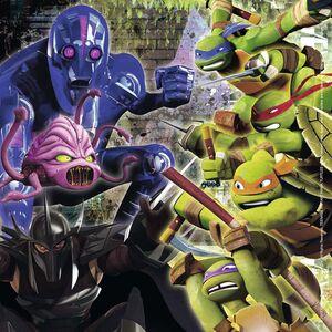 Giocattolo Multipack memory + 3 puzzle Ninja Turtles Ravensburger 1