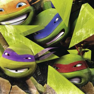 Giocattolo Multipack memory + 3 puzzle Ninja Turtles Ravensburger 2