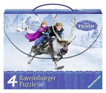 Valigetta Puzzle Frozen Ravensburger