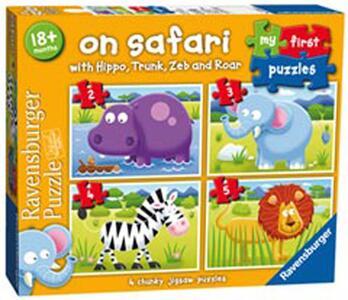 My first puzzles. Safari. 2-3-4-5 Pezzi