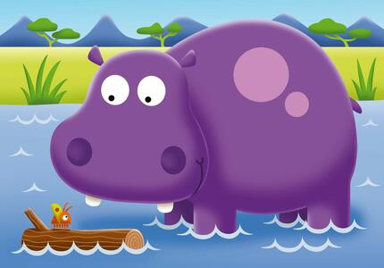 My first puzzles. Safari. 2-3-4-5 Pezzi - 3