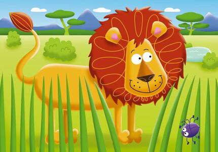 My first puzzles. Safari. 2-3-4-5 Pezzi - 5