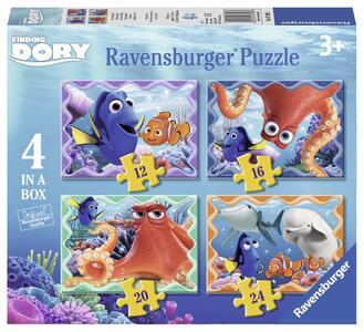 Alla ricerca di Dory Puzzle 4 in 1 Ravensburger (07399)