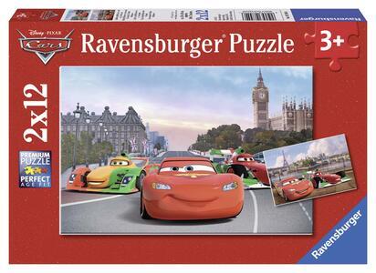 Cars 2 Puzzle 2x12 pezzi Ravensburger (07554)