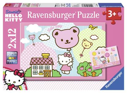 Hello Kitty Puzzle 2x12 pezzi Ravensburger (07563)