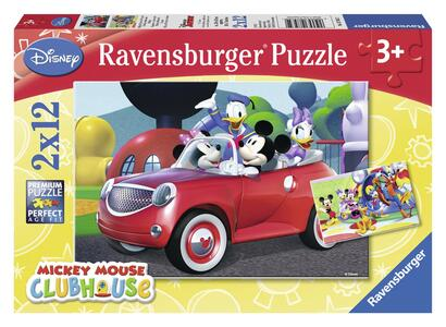Topolino, Minnie & Co. Puzzle 2x12 pezzi Ravensburger (07565)